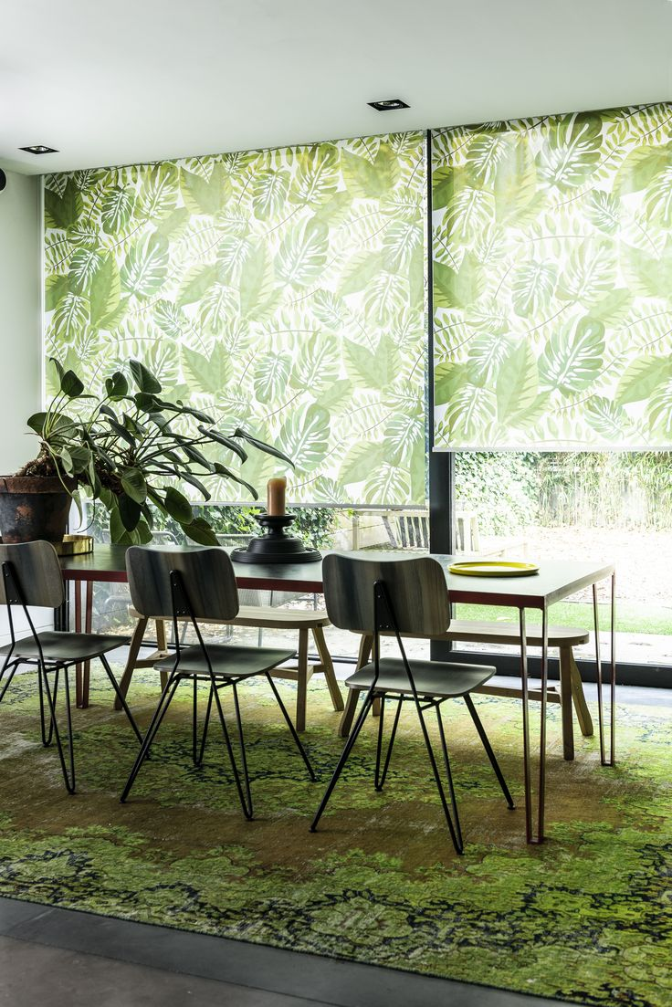 1000 images about botanisch wonen on pinterest - Decoratie wallpaper eetkamer ...