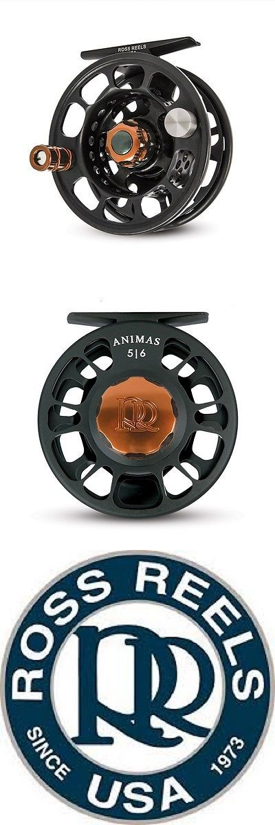 Fly Fishing Reels 23818: New Ross Animas 4 5 Fly Reel Stealth Black W Bronze Usa Made Free $55 Fly Line -> BUY IT NOW ONLY: $234.95 on eBay!