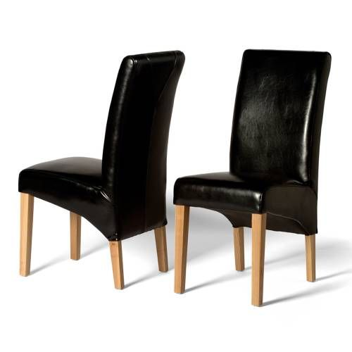 Leather Dining Chairs Olivia Black Leather Dining Chair x2 Well made and competitively priced, our Olivia Black Leather Dining Chair x2 is available for purchase online or over the phone. Anything you buy from Pinesolutions can be delivered to your door and w http://www.comparestoreprices.co.uk/dining-furniture/leather-dining-chairs-olivia-black-leather-dining-chair-x2.asp