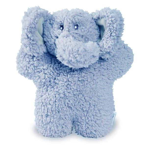 Top Paw Tug N Squeak Elephant Dog Toy Plush Rope Size Small