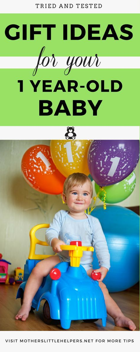 "Don't know what gifts to get your Baby for her first birthday? This list ""Tried and Tested Gift Ideas for Your One-Year-Old Baby"" will help you decide. 