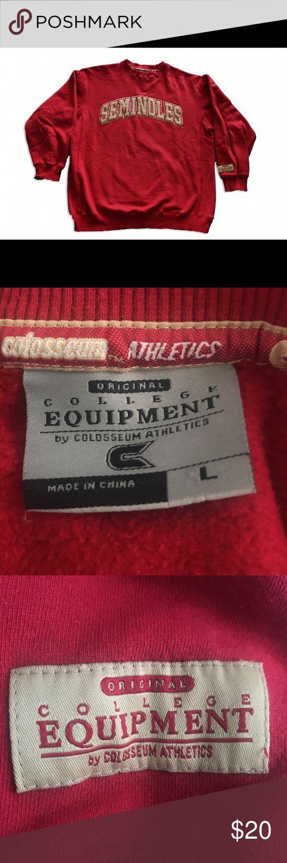 College Vintage Florida State Seminoles Sweater College Equipment by Colosseum Athletics Vintage Florida State Seminoles Sweater Pullover. Fits true to size. College Equipment by Colosseum Athletics Sweaters Crewneck