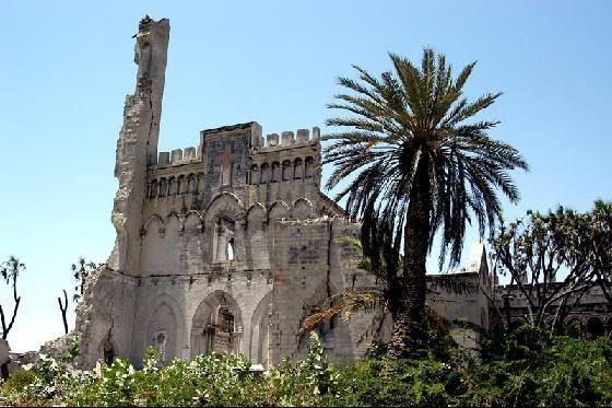 Mogadiscio - Destroyed Cathedral