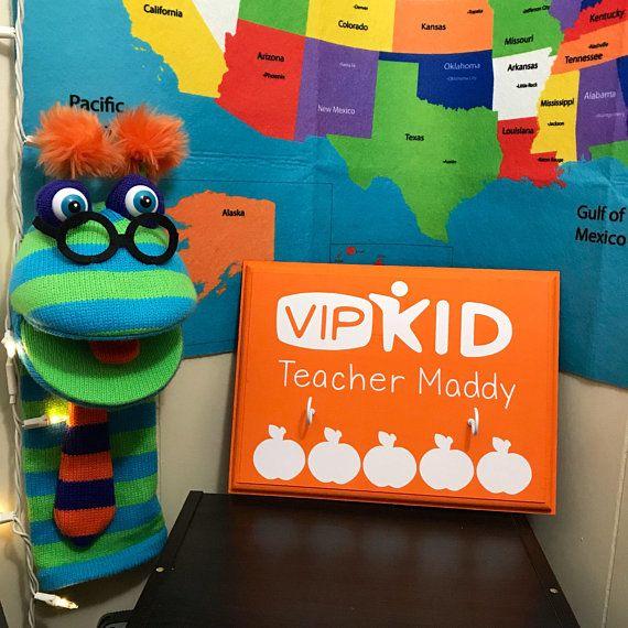 VIPKid Teacher Headphone Holder , Wall/Classroom Decoration