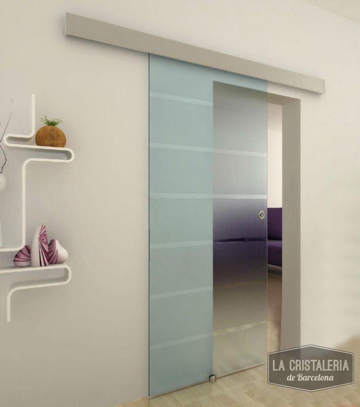 Resultado de imagen de puertas correderas de vidrio de diseño