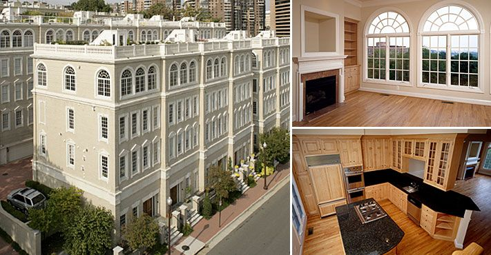 17 best images about eya neighborhood architecture on for Elevator townhomes