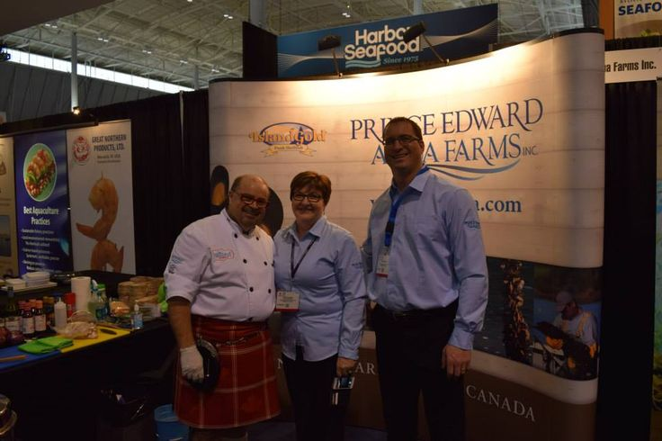 The Kilted Chef has been busy at the Boston Seafood Show this week! The spotlight is on PEI mussels!