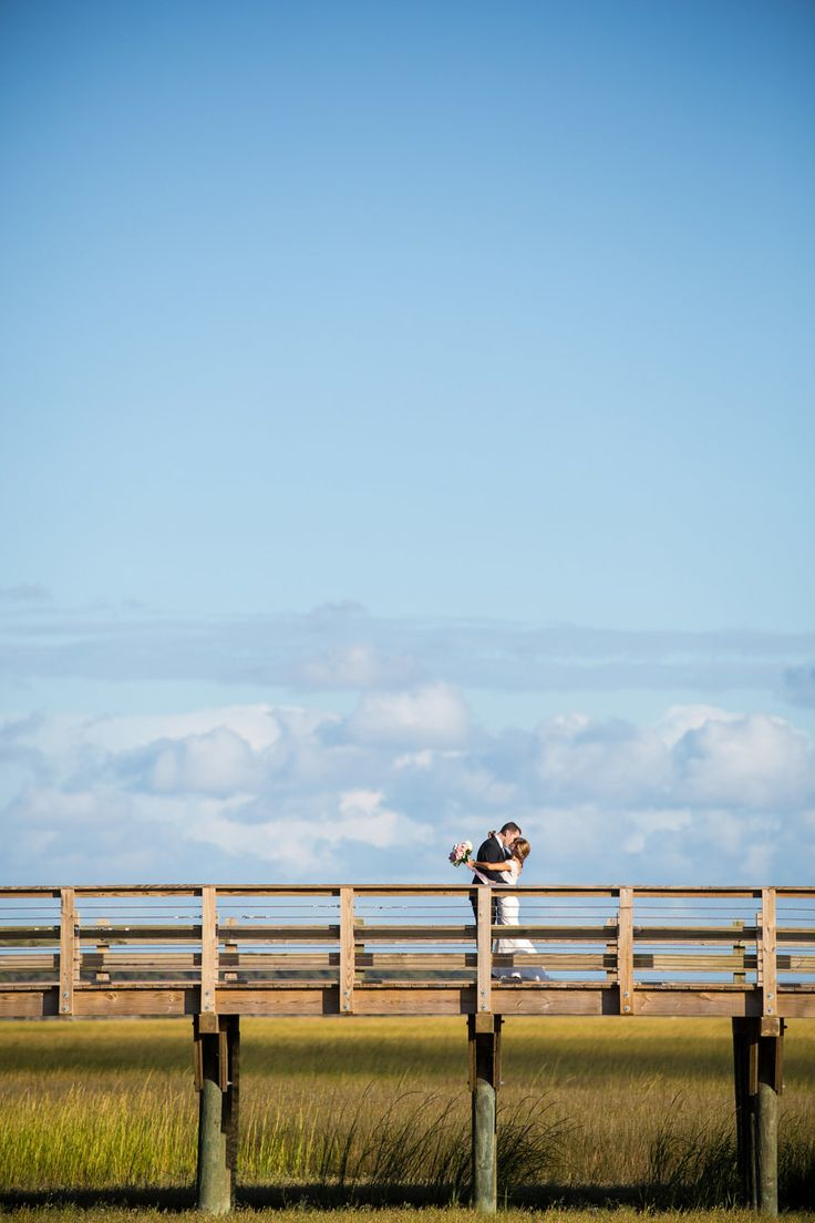 Photography: Theo Milo Photography - theomilophotography.com%0A%0ARead More: http://www.stylemepretty.com/2014/01/15/romantic-pink-green-wedding-at-bald-head-island-club/