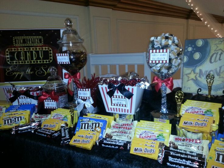 7 best images about movie theater candy buffet on