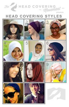 A Guide To Head Covering Styles