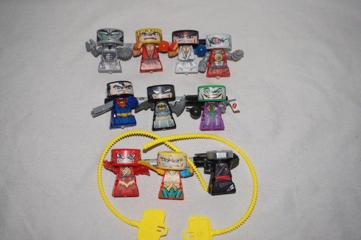 VS Rip-Spin Warriors DC Comics Batman Superman Le Joker Deadshot