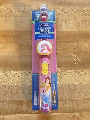 Oral B Children's Electric Battery Princess Toothbrush Pro-Health Stages Power