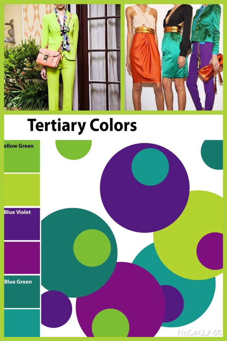 Tertiary colours.