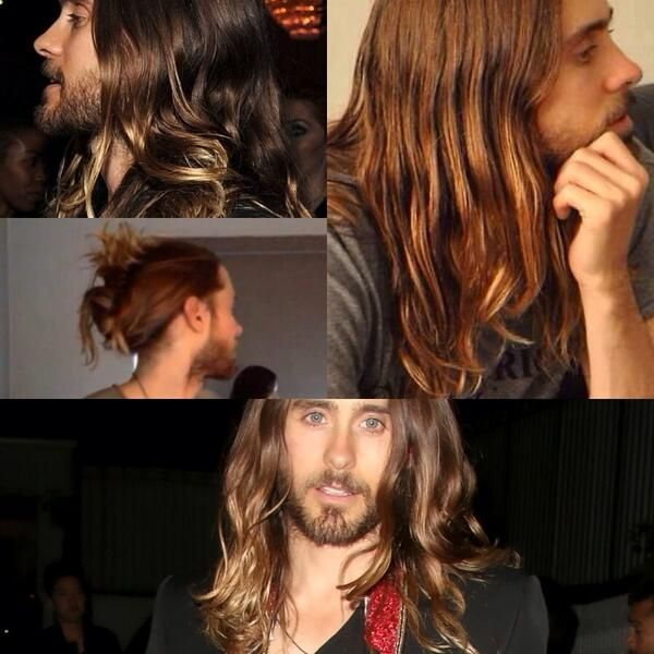 Jared Leto #LustForLetoHair - it's official: I learned to love his hair. Please don't cut it :P ~ yours truly, you future wife ;)