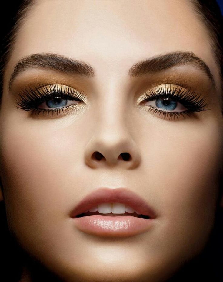 enhancing makeupLipsticks, Make Up, Eye Makeup, Brows, Beautiful, Blue Eyes,  Lips Rouge, Hair, Gold Eyeshadows