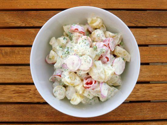 Hjemmelavet kartoffelsalat – den eneste opskrift du behøver