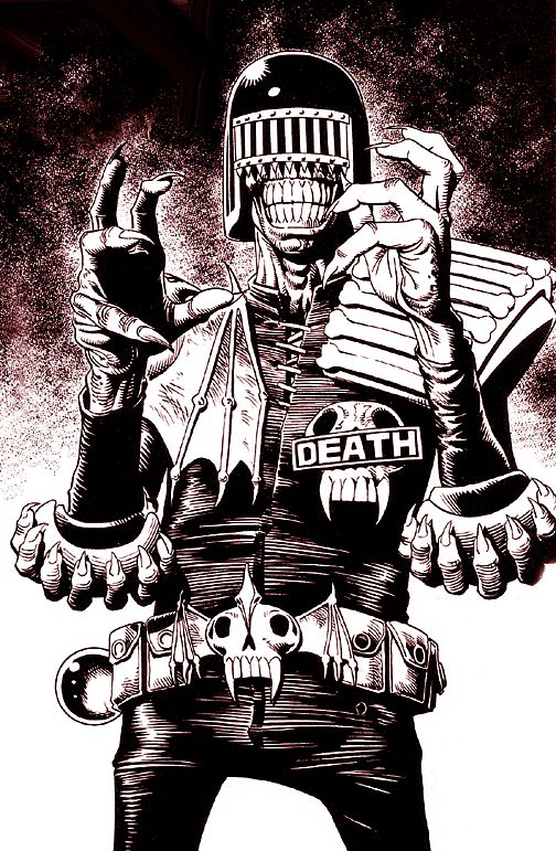 judge death by brian bolland