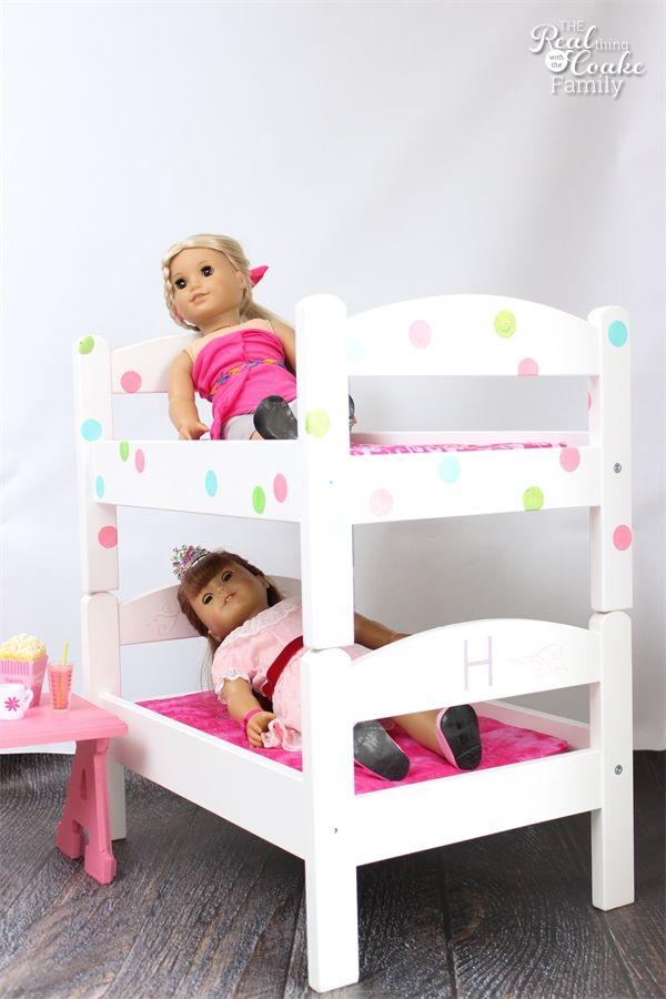 Diy American Girl Doll Bunk Beds Dolls Girl Dolls Dolls