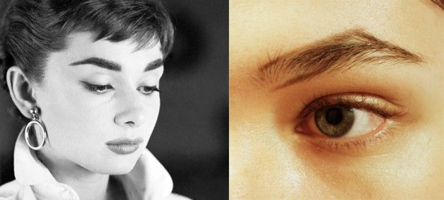 XOVain Audrey Hepburn eyebrows