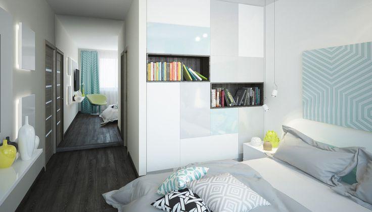 Дизайн спальни П-44Т, ЖК Нерасовка Парк - 3