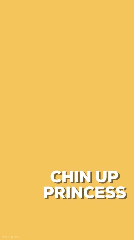Chin Up Bright Yellow Wallpaper Iphone Adelainemorin