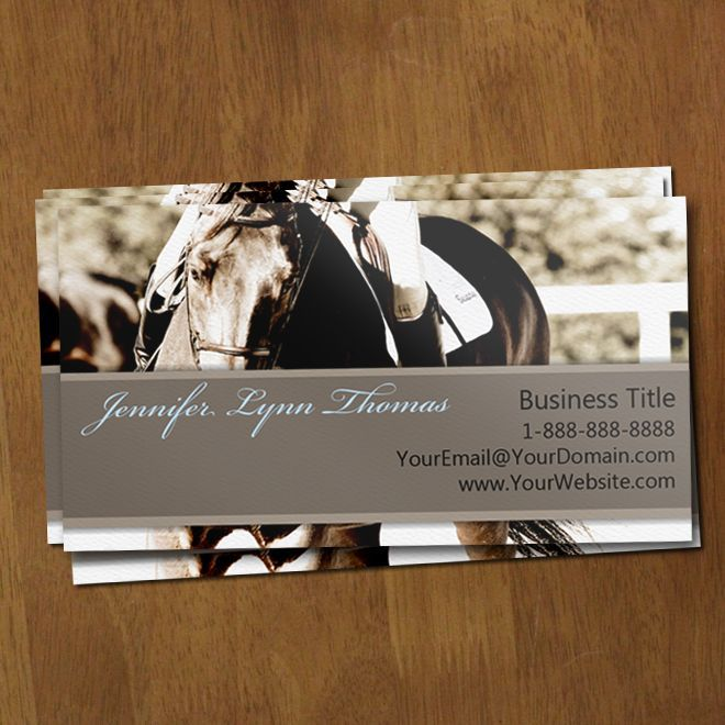 The 9 best business cards images on pinterest name cards business business card equestrian google search colourmoves