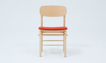 Grid chair with Kvadrat