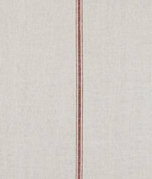 Robert Allen Stripe Within Poppy Fabric