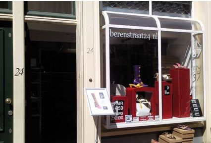 Pop-up Store Amsterdam - Berenstraat 24 - almost every week an other brand