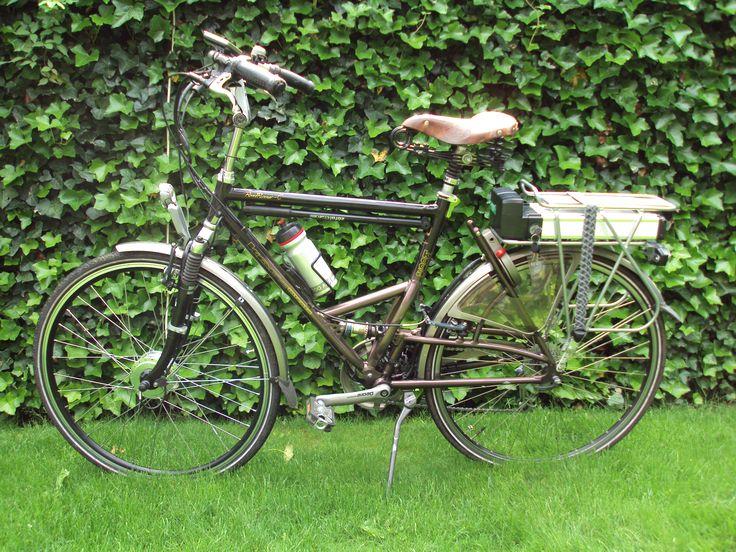 Kogamiyata Road Runner-C omgebouwd naar elektrische fiets met Comfort ombouwset elektrische fiets