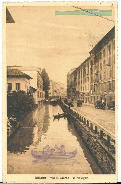 Foto e cartoline storiche   Navigli Lombardi