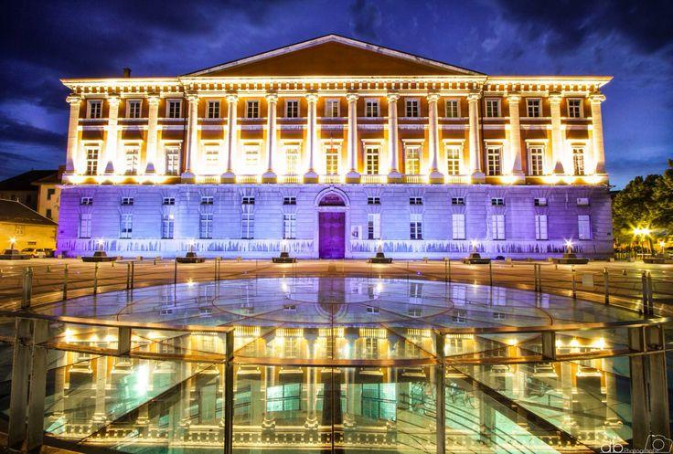 Le palais de justice Chambery