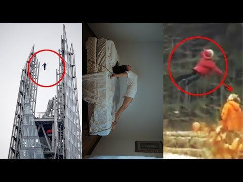 7 Mysterious Levitations Caught on Camera - YouTube