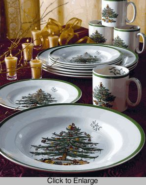 Spode Christmas Dishes :) I was raised on these and can't wait to collect them with the soon to be hubby over the upcoming years!!