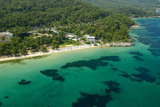 Thassos - Akti Nysteri | One of the many sandy beaches of Th… | Flickr