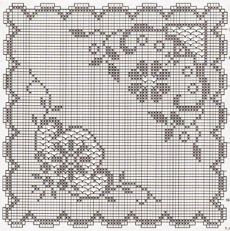 Kira scheme crochet: Scheme crochet no. 89