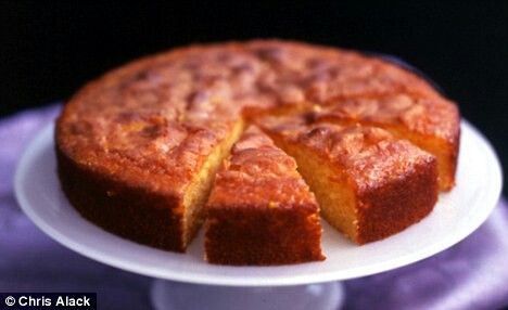 Rachel Allen almond and orange cake - utterly divine and never disappointing... such an easy and delicious cake!
