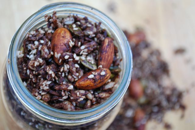 Take your next meeting to the foot path!  Paleo Chocolate Granola Recipe. via @themmsisters