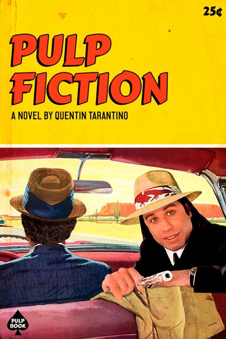 Avec son projetPulp Books, le graphic designer et illustrateurDavid Redon, aka Ads Libitum,s'amuse à transformer lesfilms cultes de Quentin Tarantino