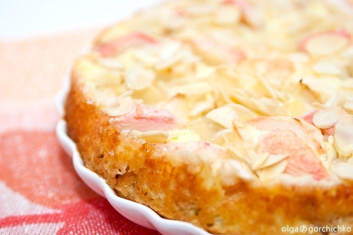 Кулинарный фотодневник: Творожный пирог с яблоками