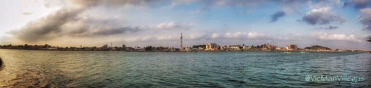 Panorámica de la bella ciudad de #Tuxpan# #Veracruz #Mexico a la orilla del río cuyo nombre es igual al de la ciudad. #VicManPhoto @VicManVillegas