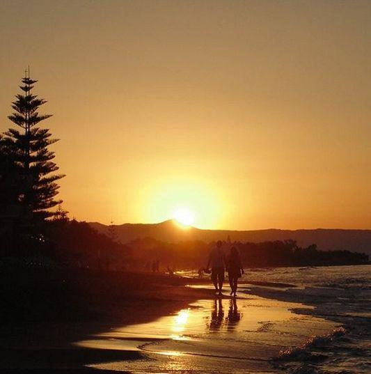 Solnedgang på smukke og skønne Kreta. Du kan læse mere her: www.apollorejser.dk/rejser/europa/graekenland/kreta