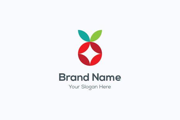 Apple fruit logo by Vitalliy on @creativework247