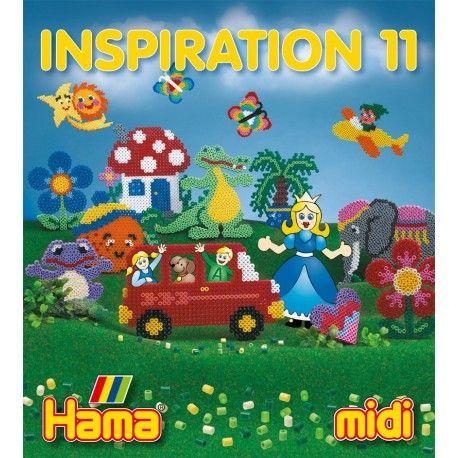 Kolejna książeczka z inspiracjami z koralików Hama:  Hama midi - INSPIRACJE 11 - Na 64 stronach znajdziecie wiele inspiracji przy wykorzytaniu wielu różnych podkładek.   Inspiracje i pomysły na zabawę z koralikami Hama  Sprawdźcie sami:)  http://www.niczchin.pl/zabawki-dla-6-latka/2068-hama-midi-inspiracje-11-ksiazeczka-z-pomyslami.html  #hama #midi #inspiracje11 #ksiazeczkahama #niczchin #zabawki #krakow