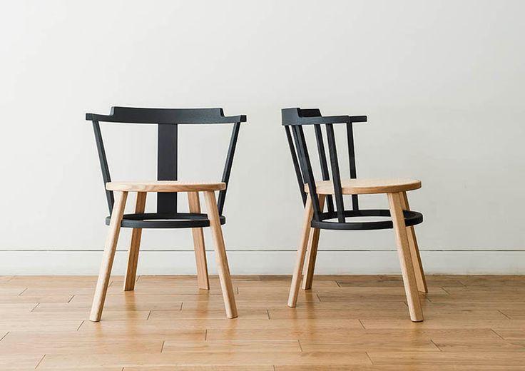Drill Design présente sa nouvelle chaise sur la base d'une Windsor nouvelle génération pour la marque time&style.