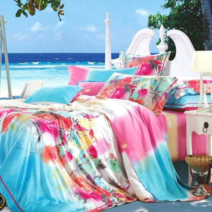 Completo lenzuola matrimoniale  copripiumino di Tencel® *Mississippi*