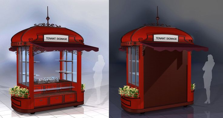 Beig kiosk design kiosks storefronts pinterest for Architecture kiosk design
