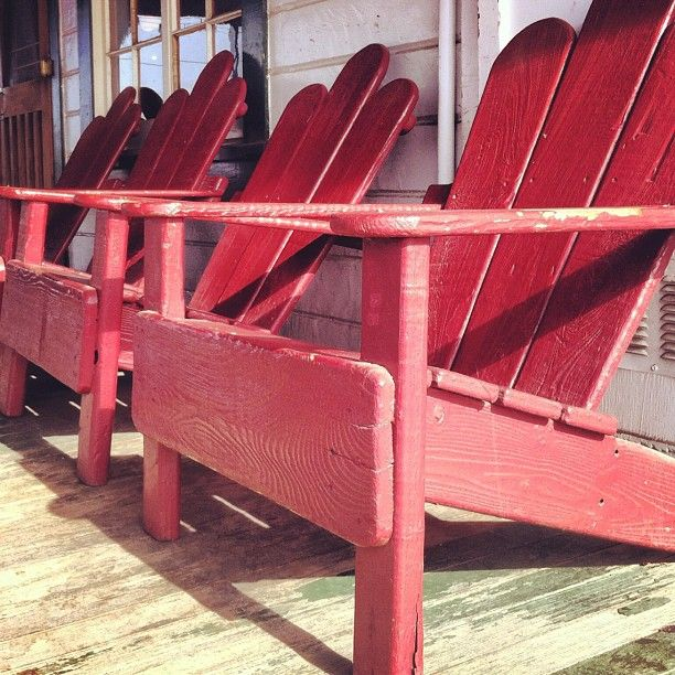 Sunset At The Dry Creek General Store/Bar In These Chairs Is A Must!