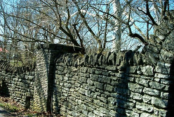 20 Best Images About Rock Fence On Pinterest Fence