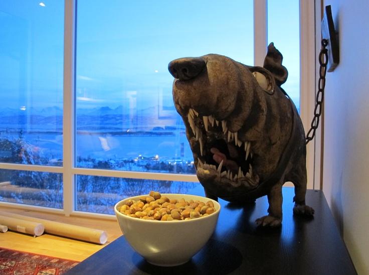 My dog - made of artist Ole Martin Skaug.